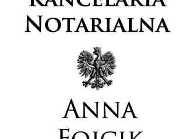 Kancelaria Notarialna Anna Fojcik